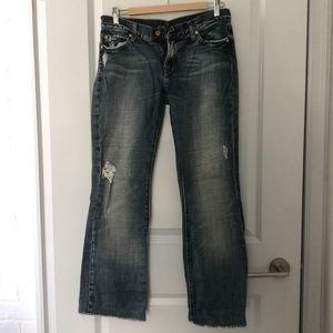 2for $50🛍 7 for all mankind flare jeans - size 29